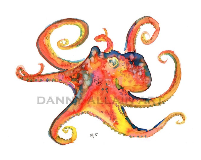 Octopus Bones Art Print