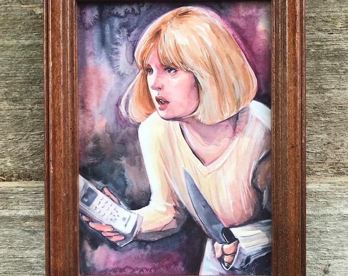Casey Becker Original Artwork, 5x7 inches