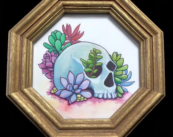 Sweet Decay Original Watercolor