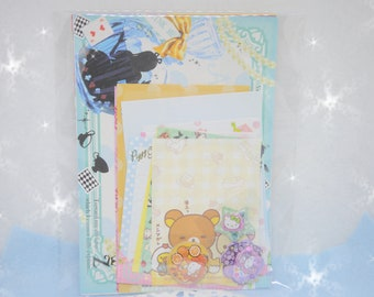 Kawaii Memo Sheets and Stickers