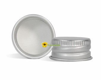Aluminum Cap with Liner 20/410 - 10 Pack