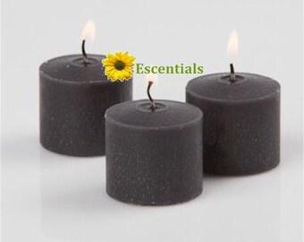 Black Votive Candle - 2 Pack