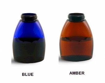 8.5 Ounce Amber Table Top Foamer Bottle Only - Top sold separately