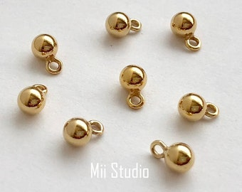 10pcs 14k Gold Filled 4mm x 2mm Curved Tube beads F58g