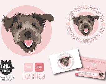 Bespoke logo design - pet illustration