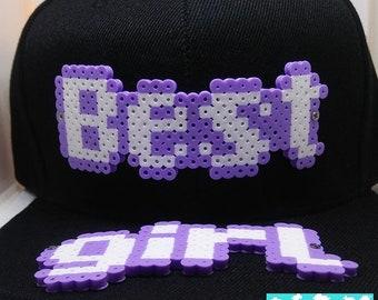 8-Bit Best Girl / Best Boy Snapback