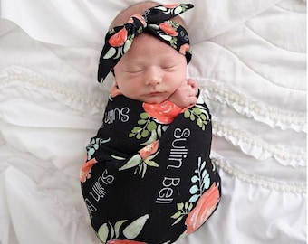 Personalized Swaddle