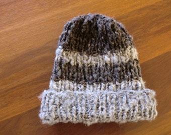 baby soft wool bonet hat in beautiful grey colour best photo prop #17 Newborn