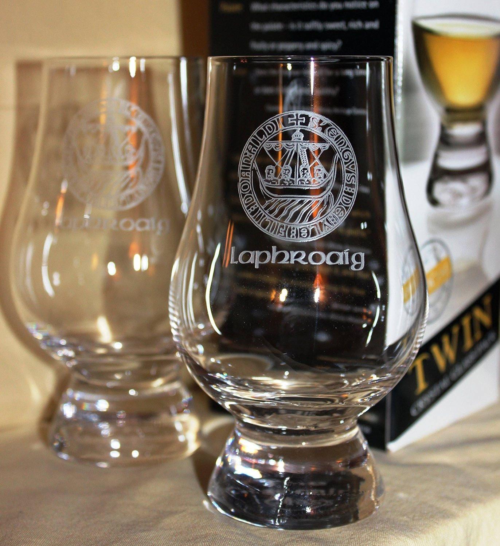 Laphroaig Islay Crest Twin Pack Glencairn Whisky Tasting  329bb2252