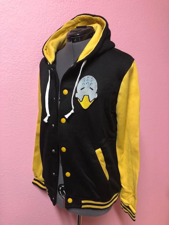 Zenyatta Overwatch Inspired Hoodie Jacket XF2wAWbxS