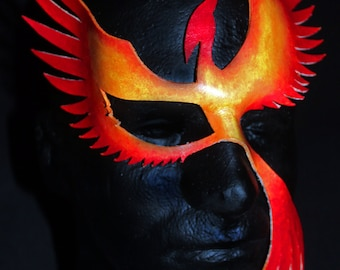 Leather Phoenix Mask