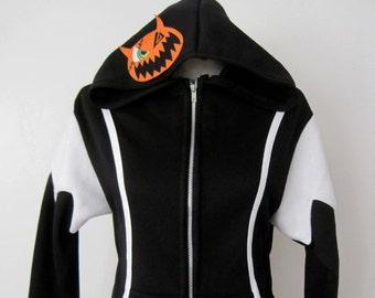 Kingdom Hearts Halloween Town Cosplay Costume Sora Hoodie Jacket