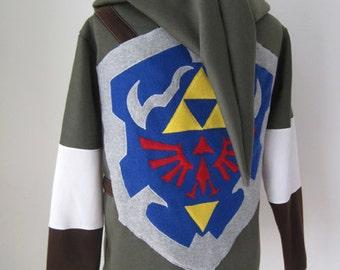 À De Capuche Costume Zelda La Cosplay Etsy Légende Link Sweat Veste 8HFB15Ox