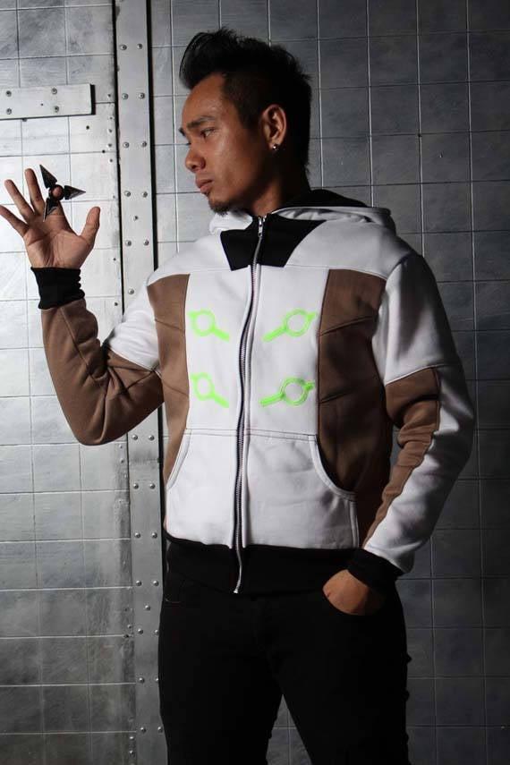 Genji Cyber Ninja Overwatch Cosplay Costume Hoodie Jacket OvqgYy