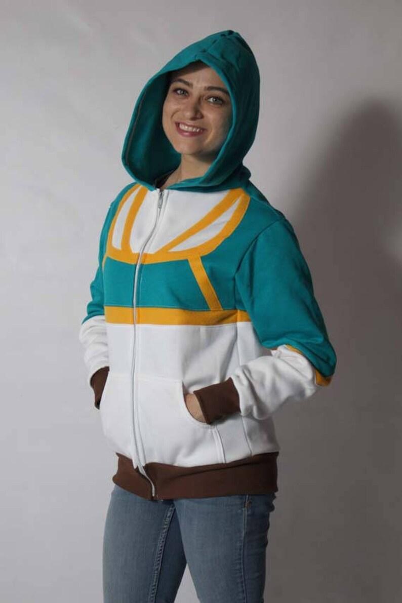 Clearance Princess Zelda Breath Of The Wild Game Botw Cosplay Costume Gamer Hoodie Jacket Sweater Sweatshirt Outfit