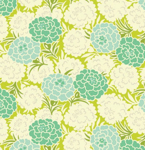 Up Parasol Mum Toss In Chartreuse By Heather Bailey For Free Etsy