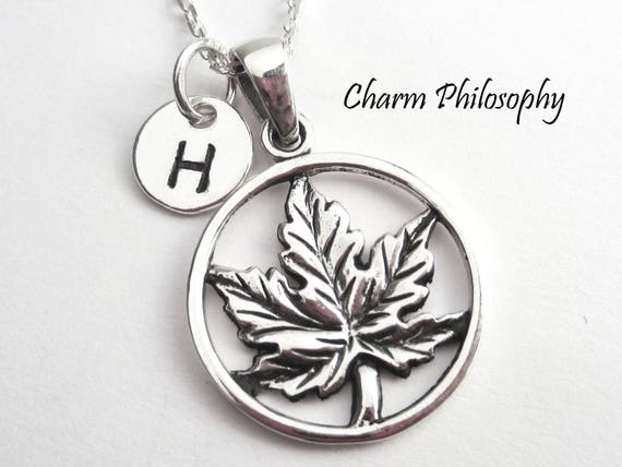 Maple Leaf Necklace Toronto Maple Leafs Gifts 925 Etsy