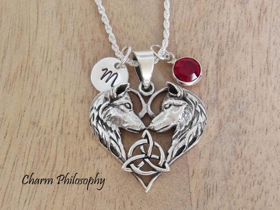 Two Silver Handmade Heart Charms 1.2mm
