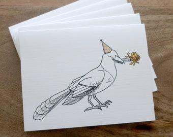 """Celebrate! Grackle Card - 4.25"""" x 5.5"""""""