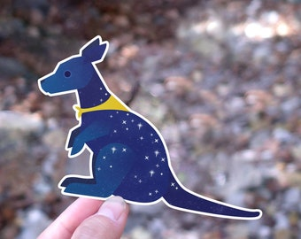 Fundraiser for Australia! - Wallaby Sticker