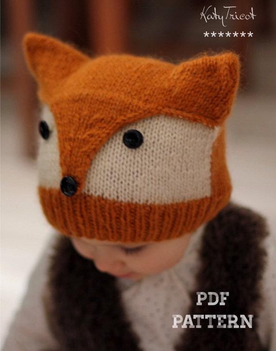 Patron De Tricot Bonnet Foxy Wolfie Tailles Enfant Et Adulte Français Et Anglais