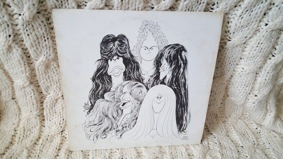 Aerosmith Draw The Line Vinyl Record Etsy
