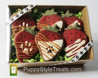 GRAIN FREE dog treats Pawberries