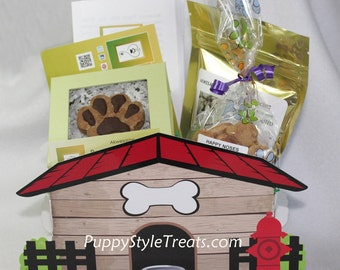 DOG TREATS BASKET