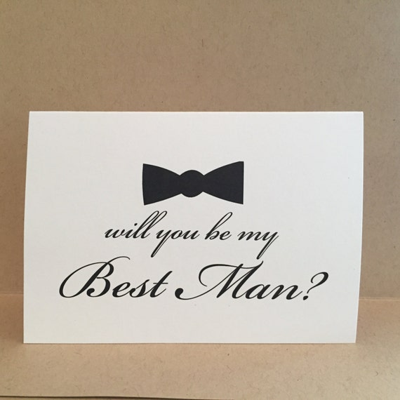 Will You Be My Groomsman Card Best Man Card Groomsmen Cards {Style 1}