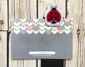 Ladybug bookmark, lady bugs, back to school, ladybug school supplies, ladybug birthday, ladybug books, ladybird