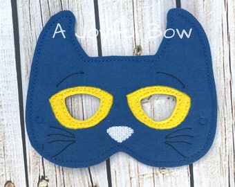 Pete mask pete the cat book buddies pete the cat party book reading costume book character costume  sc 1 st  Etsy & Pete the cat costume | Etsy