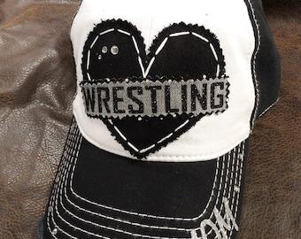 Wrestling Mom Love hat