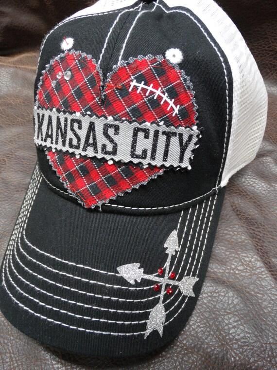 297d3964129 ... promo code for i heart kansas city black trucker hat etsy a112c 90bfe