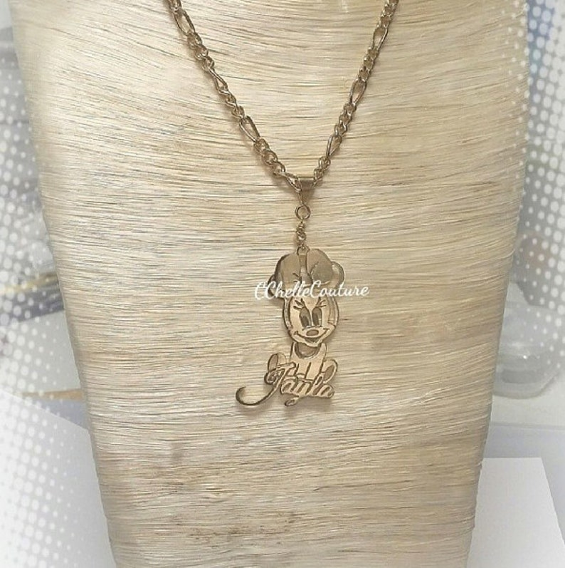 Custom Name Character Necklace **This Style Only**