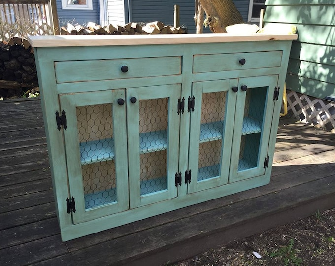 SandraLee 2 Rustic Buffet - FREE SHIPPING