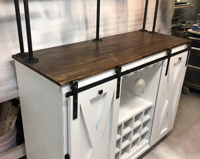 Custom II Beverage Bar- FREE SHIPPING