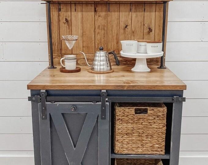 Weston mini Chalkboard Coffee Bar - FREE SHIPPING