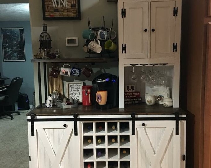 Custom Beverage Bar- FREE SHIPPING