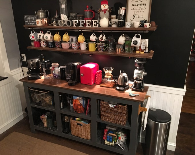 Eddie 4 Coffee Bar - FREE SHIPPING