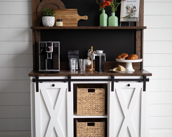 Weston Chalkboard Coffee Bar Buffet