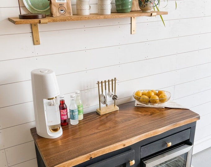 The Graham Beverage Bar with Cutting Board - FREE SHIPPING