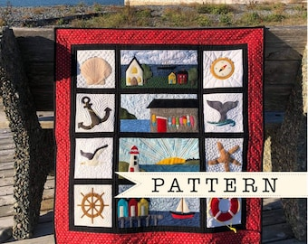 Sea Shanty Quilt Pattern