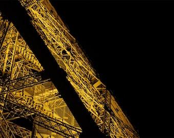 Eiffel Tower photography print, Wall art print, Urban photography print, Cityscape photography print, Travel decor, Details, Paris, France