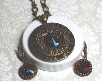 Volcano Portal Necklace Set