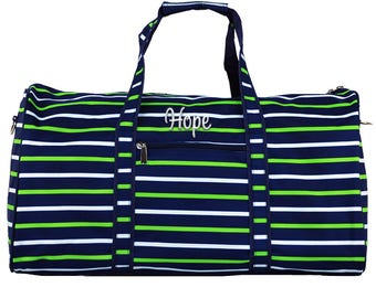 895af0902c Monogrammed Duffle Bag Personalized Duffle Bag Overnight
