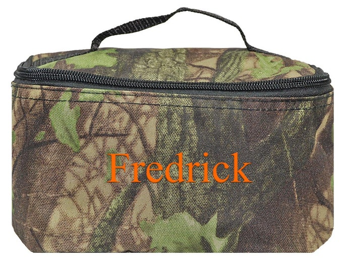 Monogrammed Travel Bag   Personalized Cosmetic Case   Camo Toiletry Bag   Unisex Travel Bag   Birthday Gift   Men Toiletry   Camo Cosmetic