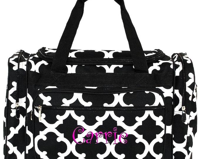 aae428eb74 Personalized Duffle Bag Weekend Travel Bag Monogrammed Duffle Bag Girls Duffle  Bag Monogram Luggage Overnight Bag
