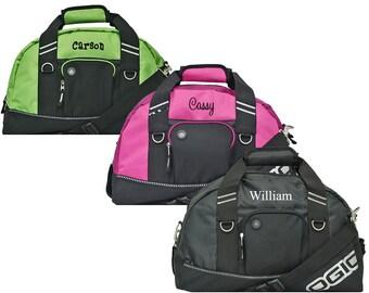 Monogrammed Duffle Bag   Sports Duffle Bag   Personalized Gym Bag   Mens Gym  Bag   Overnight Bag   Womens Pink Duffle Bag   Kids Duffle Bag 374c89920b