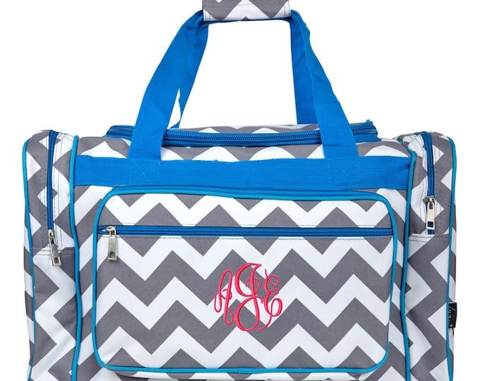 a231558554a8 Monogrammed Duffle Bag Personalized Cheer Bag Monogram Dance Bag Girls  Overnight Bag Carry On Bag Grey