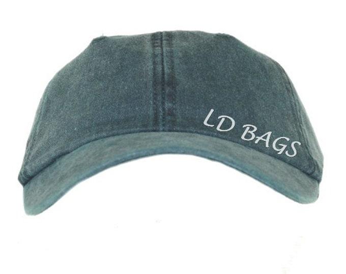 Monogram Baseball Hat | Personalized Baseball Hat | Bridesmaid Hat | Sun Hat | Beach Hat | Monogram Beach Hat | Aqua Green Baseball Hat